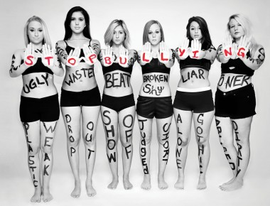 Stop-Bullying-Girls-with-words-written-all-over-bodies-Jan-12-p112