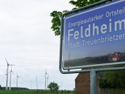 Feldheim - Town sign -