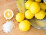 lemon banking soda